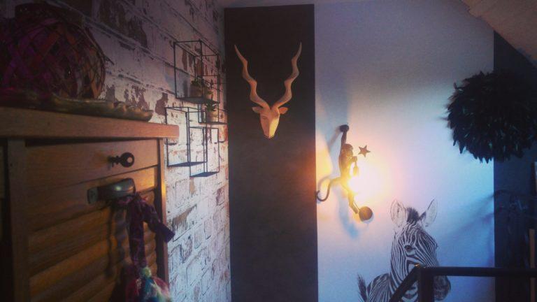 """décoration cage d""""escalier"""